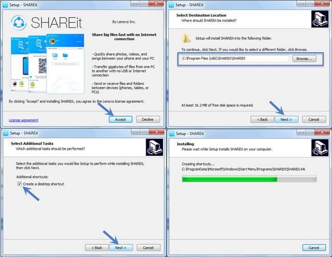 SHAREit for Windows 7 [32/64 Bit]