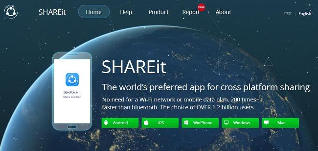 shareit soft download for pc